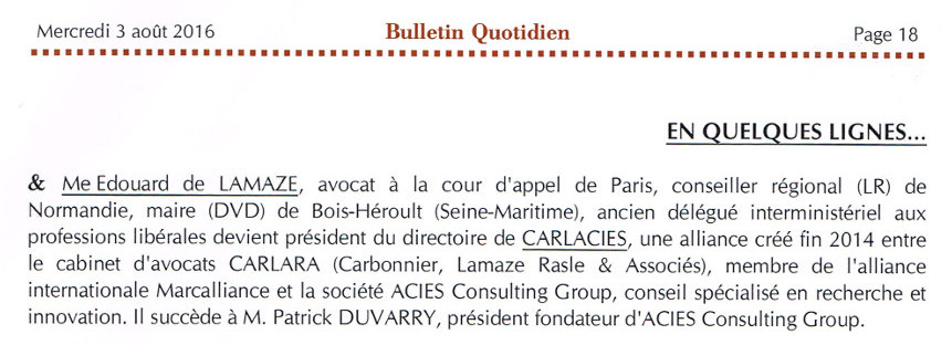 2016 08 bulletin quotidien carlacies